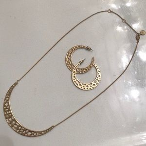 Stella & Dot Necklace and Earring Set